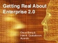 Getting Real About Enterprise 2.0
