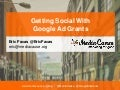 Getting Social With Google Ad Grants
