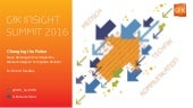 GfK Insight Summit 2016 Einleitung Kecskes