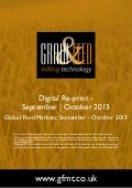 Global Feed Markets: September - October 2013