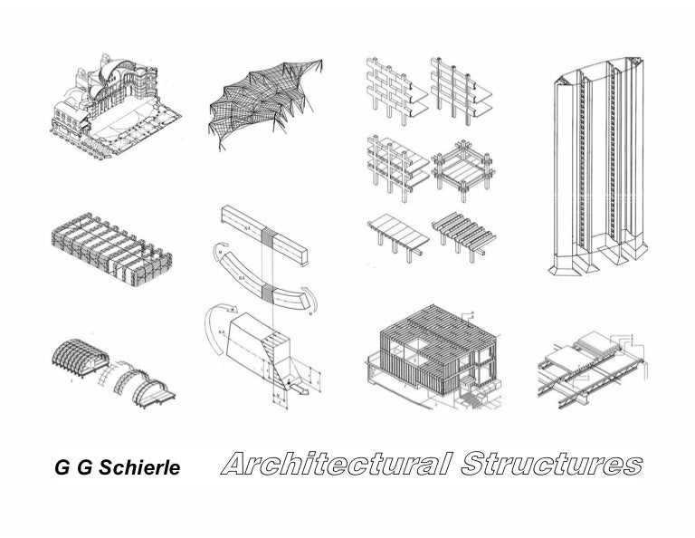 Architectural structures for Architectural concepts types