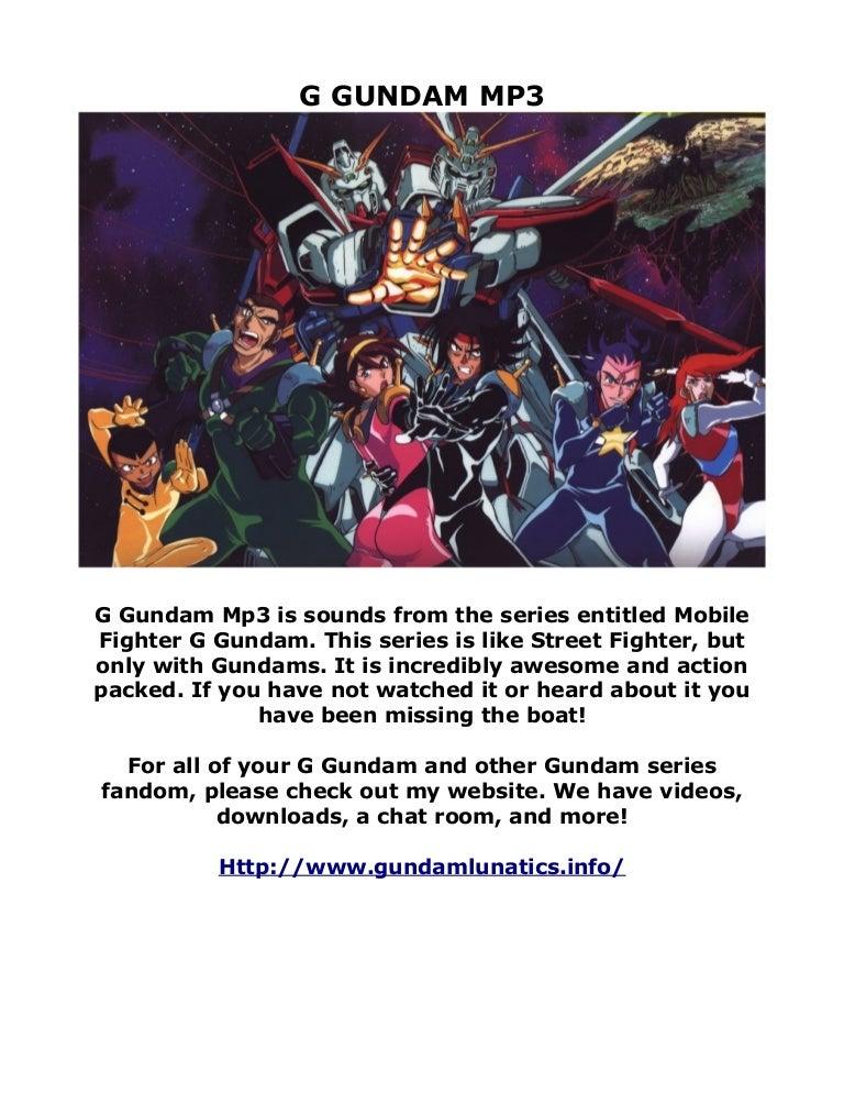 G Gundam Mp3