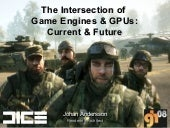 The Intersection of Game Engines & GPUs: Current & Future (Graphics Hardware 2008)