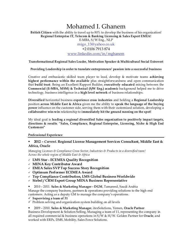 ghanem cv resume 2015 bbb
