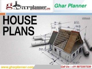 Ghar Planner Offer Best Home Design Plans In India