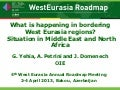 What is happening in bordering West Eurasia regions? Situation in Middle East and North Africa