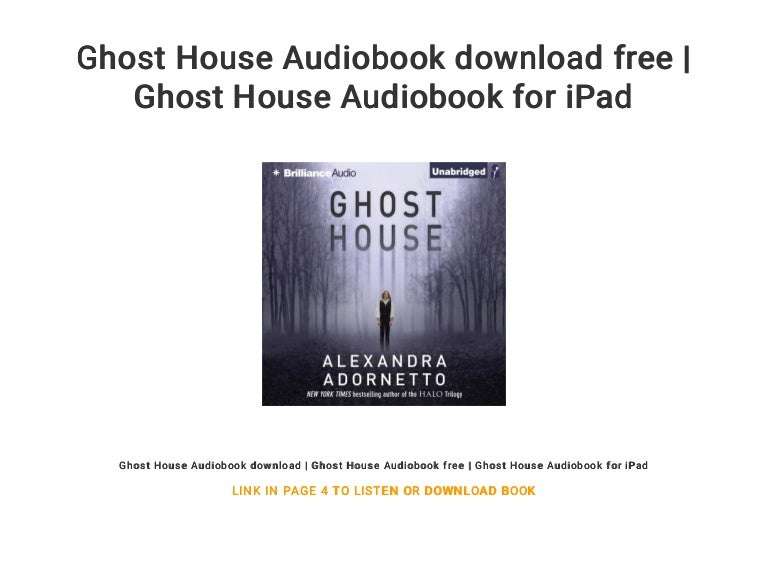Download Ghost House The Ghost House Saga 1 By Alexandra Adornetto