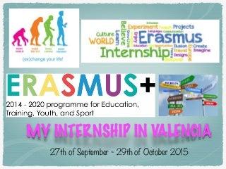 Giada's Erasmus in Valencia
