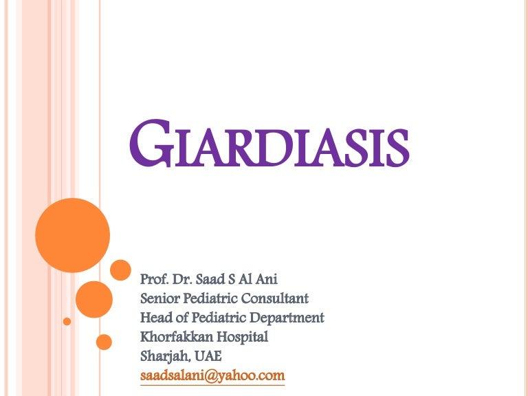 Giardia treatment toddler, A Giardiasis gyerekeknek