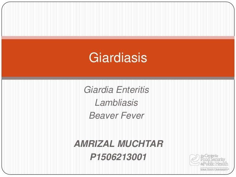 eper giardiasis