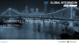 Serverless Computing in Azure