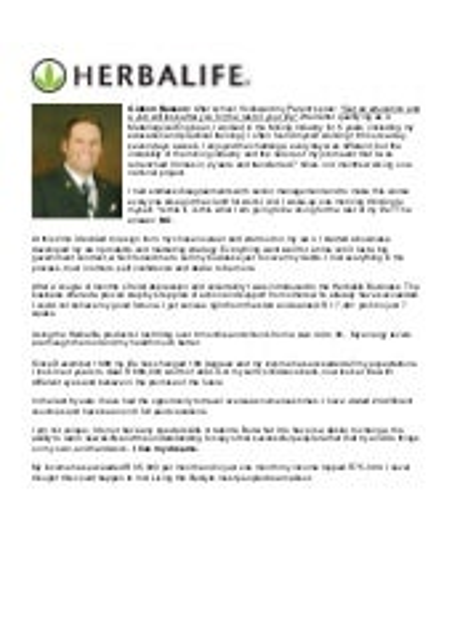 Testimonial - Gideon Basson