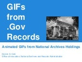 Gifs from Government Records