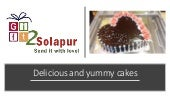 Online Cake Delivery in Solapur | Send Cakes to Solapur