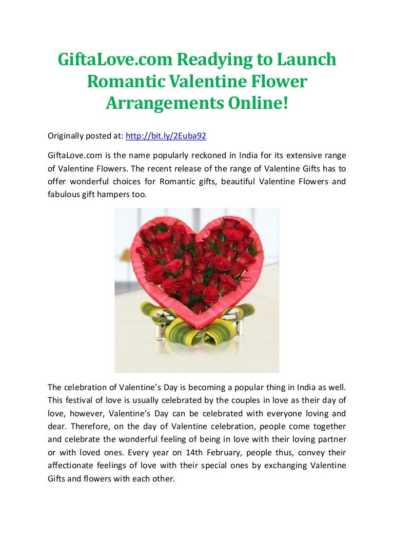 Giftalove readying to launch romantic valentine flower arrangemen izmirmasajfo