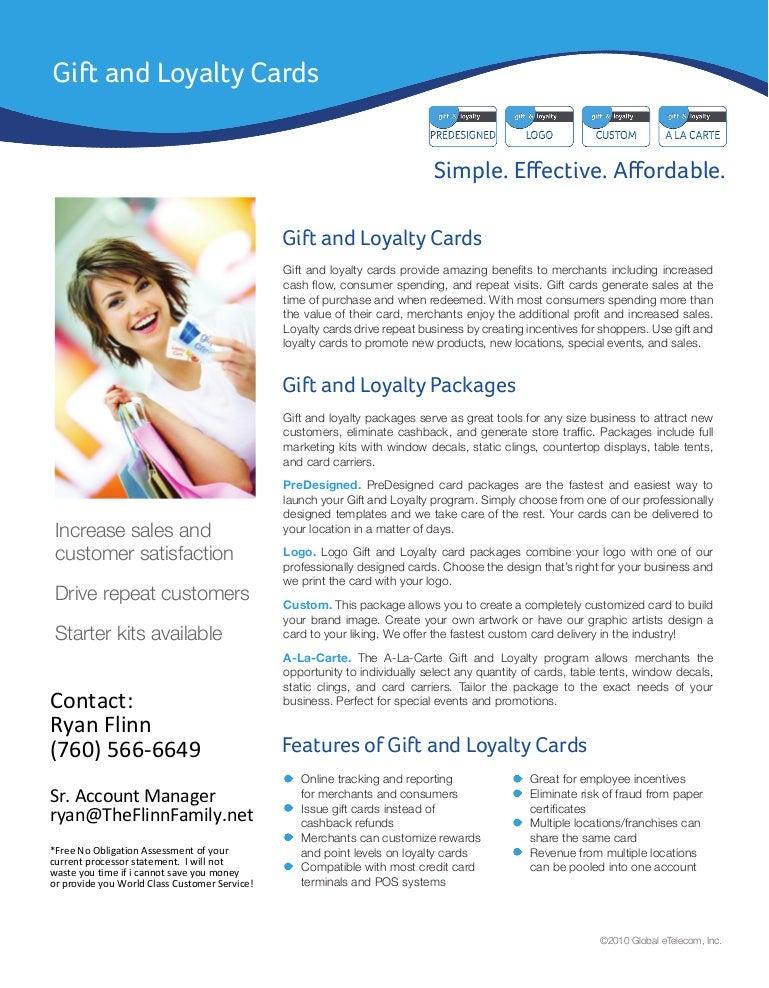Gift Card & Loyalty Programs
