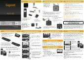 Gigaset AL410A Digital Cordless Telephone User Guide