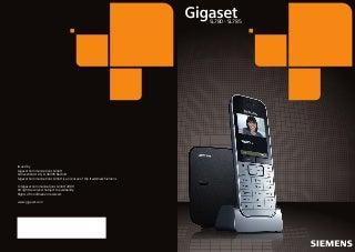 Gigaset sl780 sl785 telephone user guide