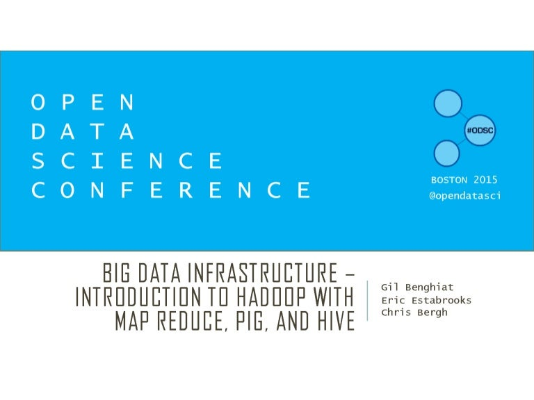 Big Data Infrastructure: Introduction to Hadoop with