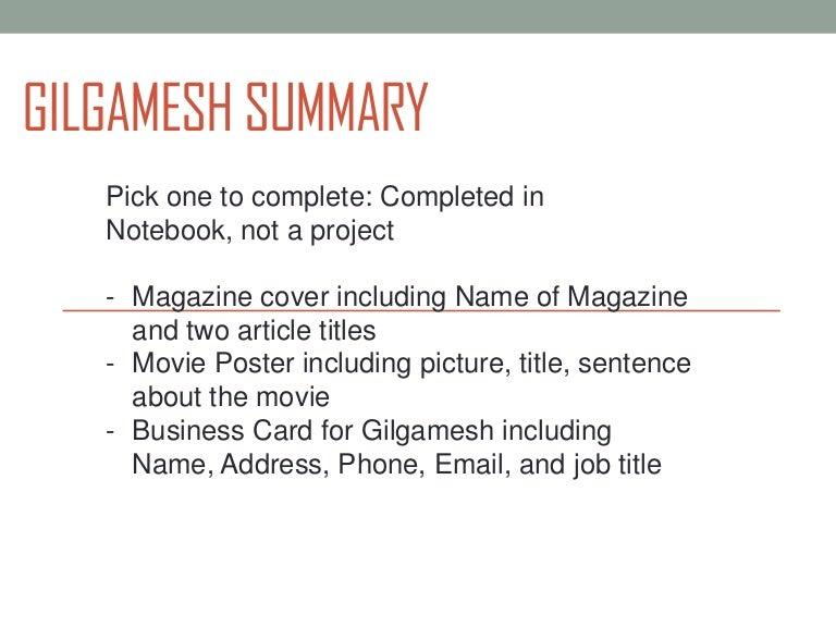 Gilgamesh summary gilgameshsummary 111207092404 phpapp02 thumbnail 4gcb1323250927 reheart Choice Image