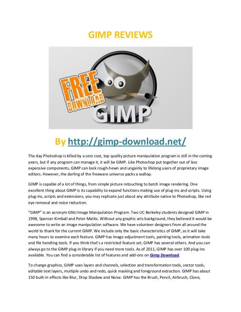 Gimp reviews