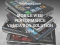 Ginsbourg.com - Presentation of Mobile Web Performance Validation Solution 2015
