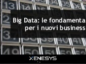 Offering - Big data: le fondamenta per i nuovi business