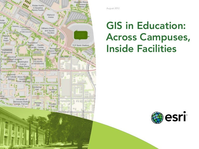 GIS in Education: Across Campuses, Inside Facilities Ccsf Campus Map on