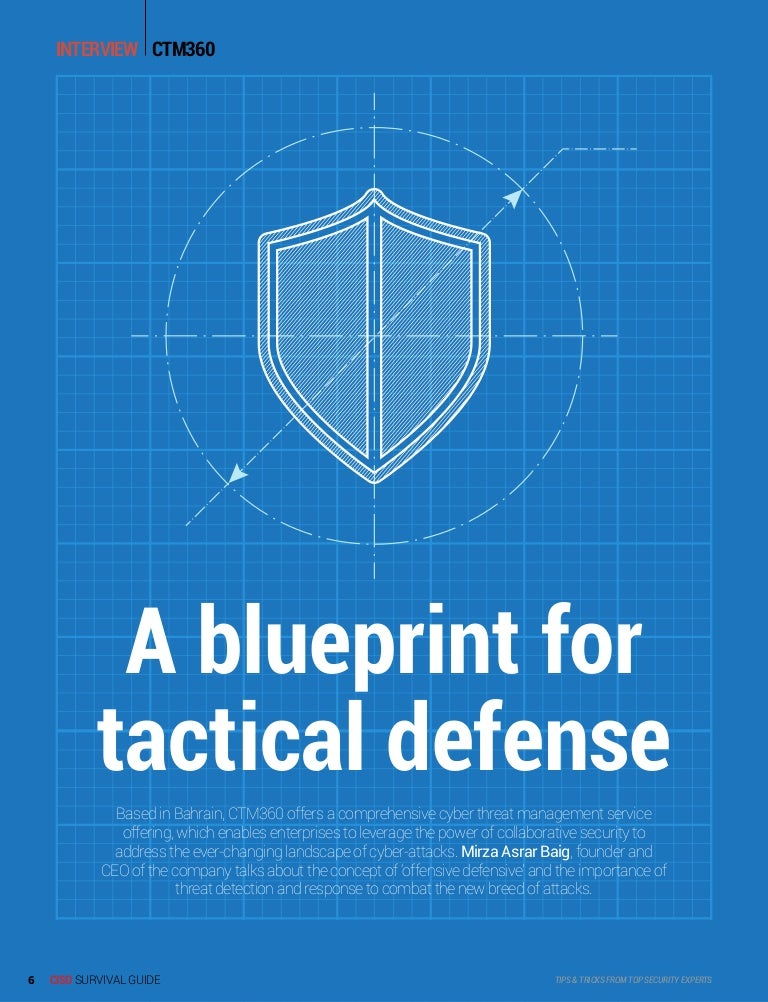 A blueprint for tactical defense ciso survival guide gisec 2017 supp malvernweather Images