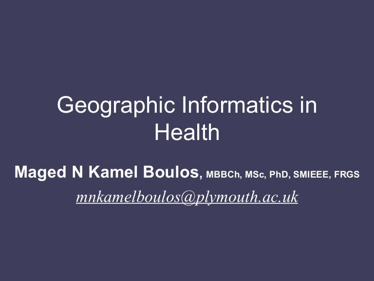 Gis in health fandeluxe Image collections