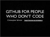 GitHub for People Who Don't Code