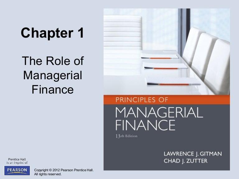 Gitman Financial Management Pdf