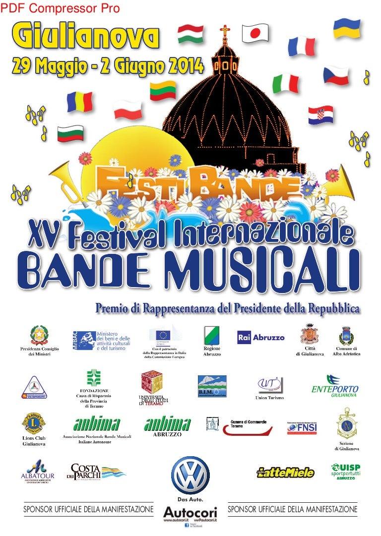 Giulianova - Bande musicali 2014