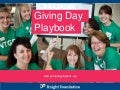 Giving Day Playbook Presentation