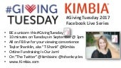 10 Minute Tuesdays for #GivingTuesday