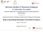 Key Enabling Technologies in the Serbian ICT Industry