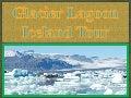 Glacier lagoon iceland circle tour