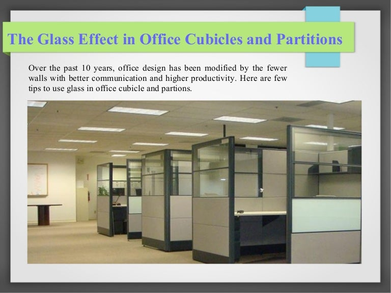 Benefits of Glass in Office Cubicles and Partitions