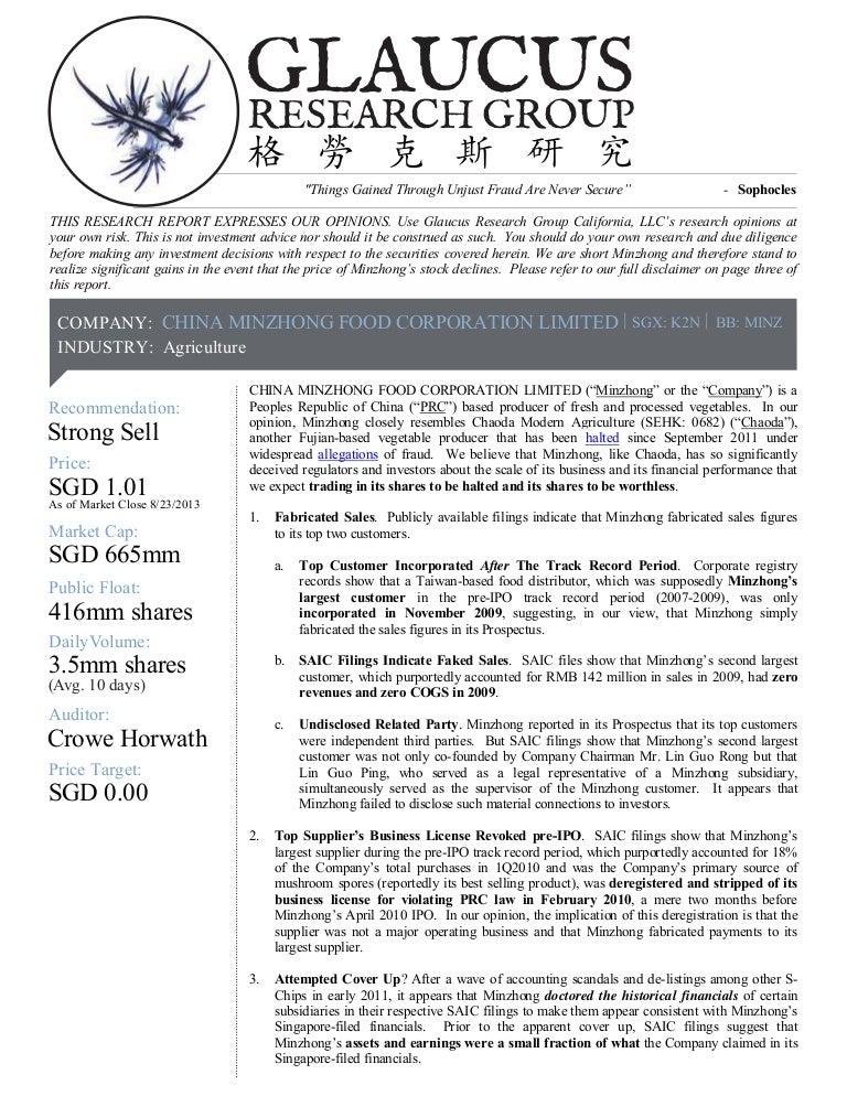 china minzhong