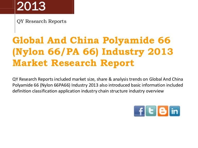 Analysis Nylon fiber market