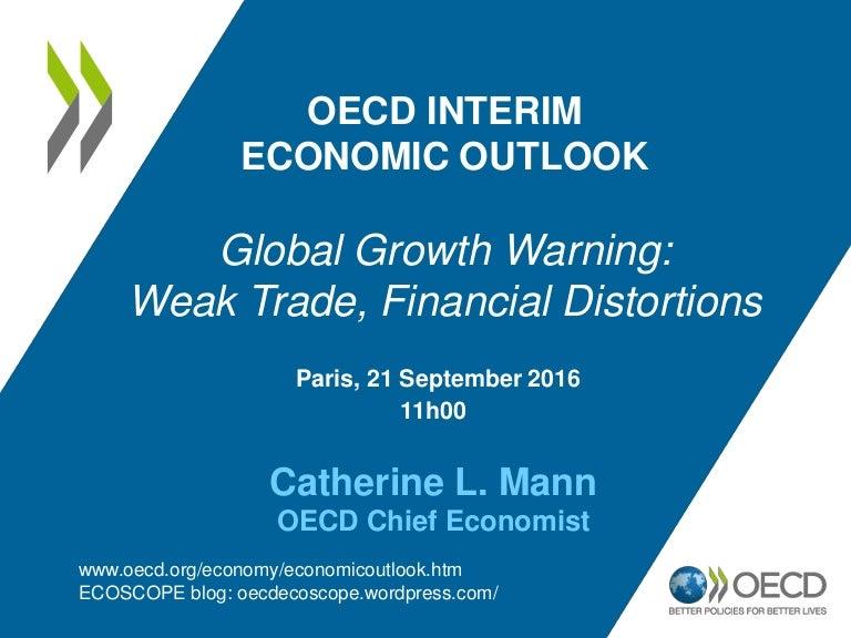 Global growth warning weak trade financial distortions ...