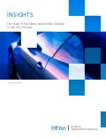 Infosys Insights: The state of the global automotive industry