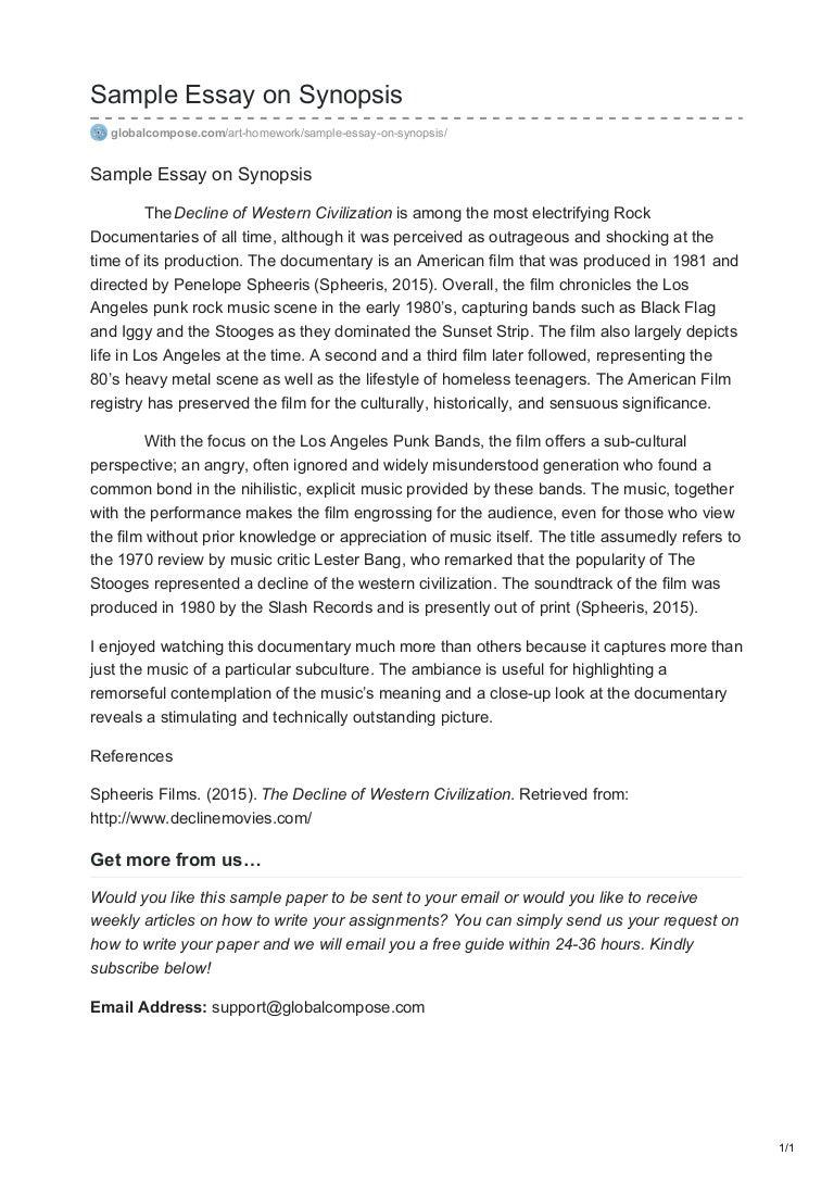uow essay layout