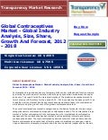 Global Contraceptives Market - Global Industry Analysis, Size, Share, Growth And Forecast, 2012 - 2018