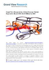 5a51f39ad1 State of the Eyewear Industry in 2015