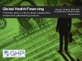 Global Health Financing