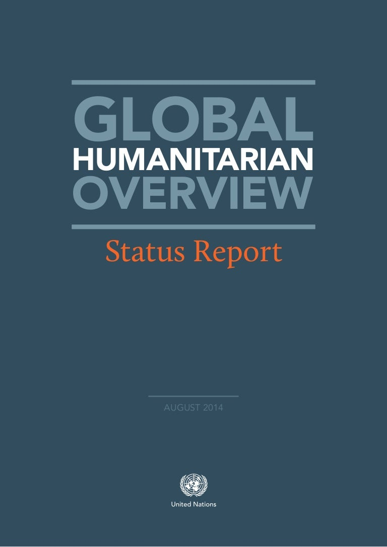 unocha global humanitarian overview status report of 2014