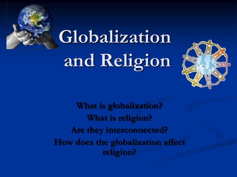 Globalization And Religion