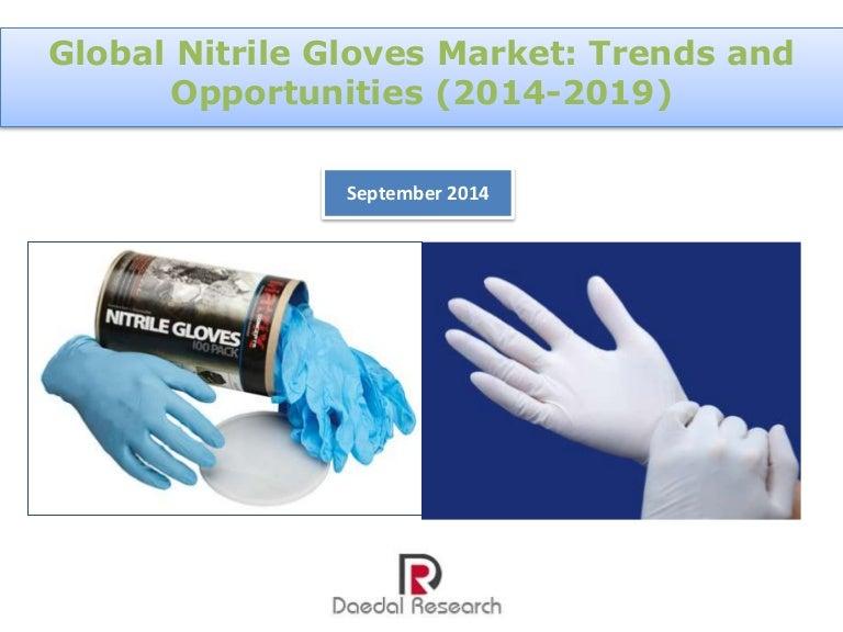 Global Nitrile Gloves Market Trends Opportunities 2014 2019 Ne