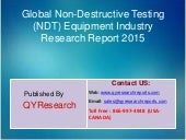 jsb market research non destructive testing World's largest and most respected market research resource searchable database of market research reports incorporating all niche and top industries.